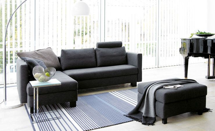schlafsofas wohnen und schlafen in einem bettenhaus. Black Bedroom Furniture Sets. Home Design Ideas