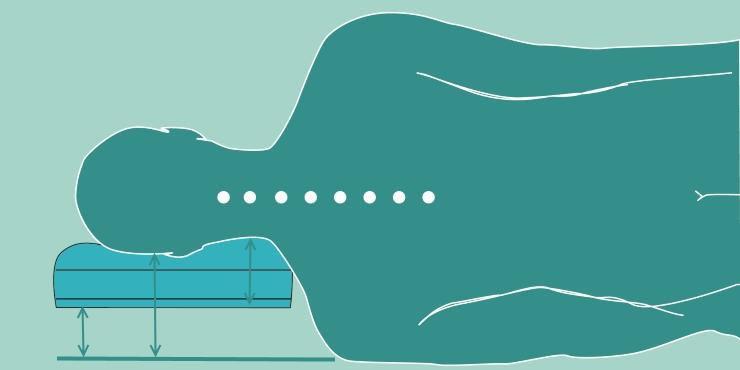kein nackenkissen oder nackenst tzkissen ohne test. Black Bedroom Furniture Sets. Home Design Ideas